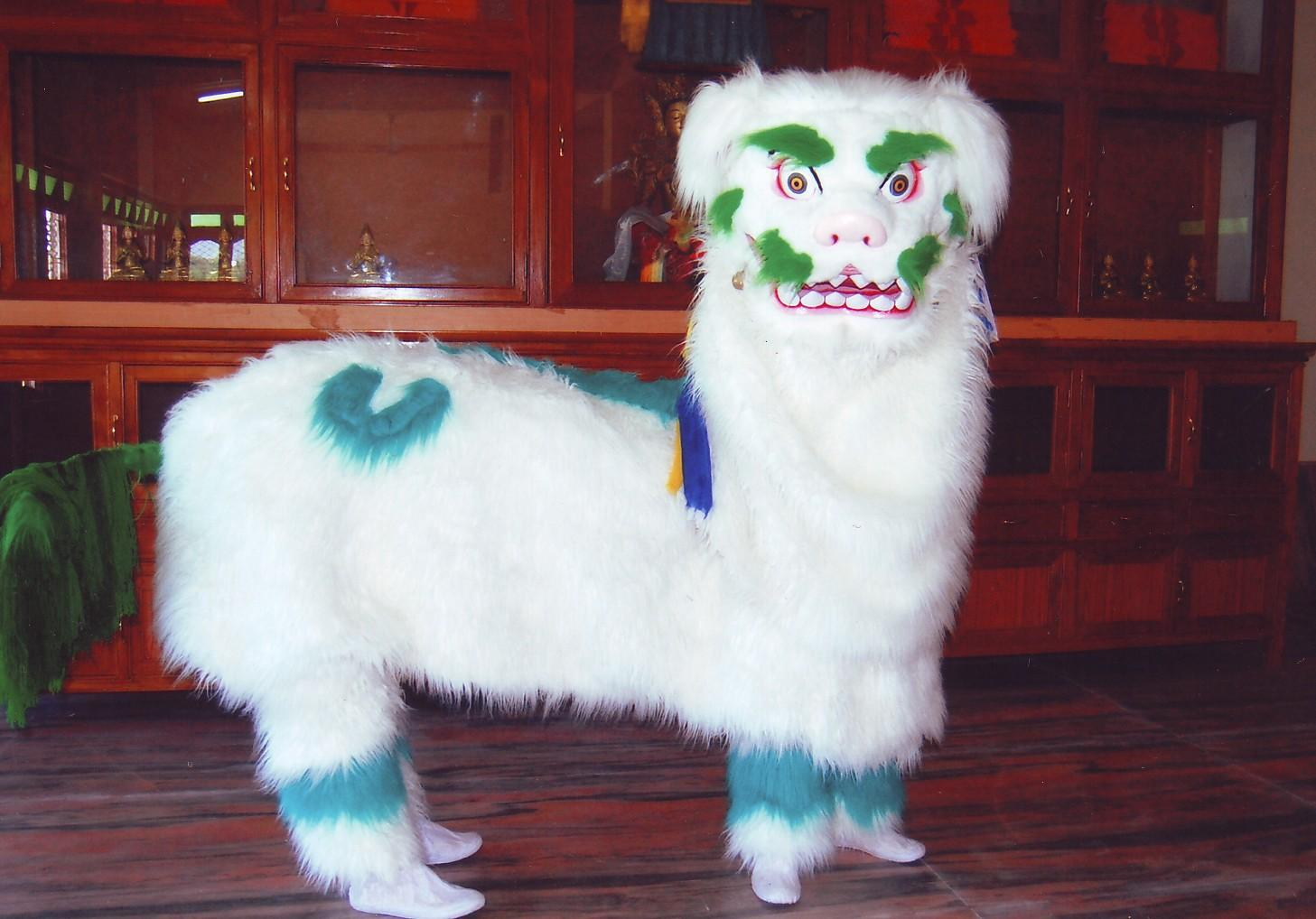 In Tibet the Snow Lion symbolizes the fearless and elegant quality of the enlightened mind